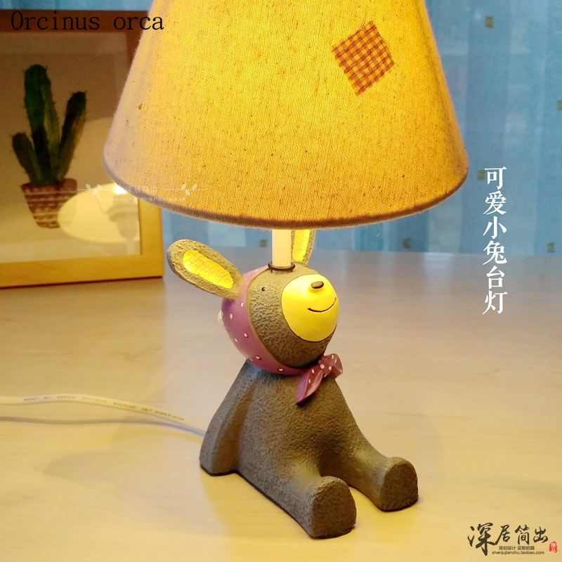 Cartoon creative small animal table lamp Boy Girl Bedroom children room lamp modern cute baby desk lamp free shipping creative cartoon baby cute led act the role ofing boy room bedroom chandeliers children room roof plane light absorption