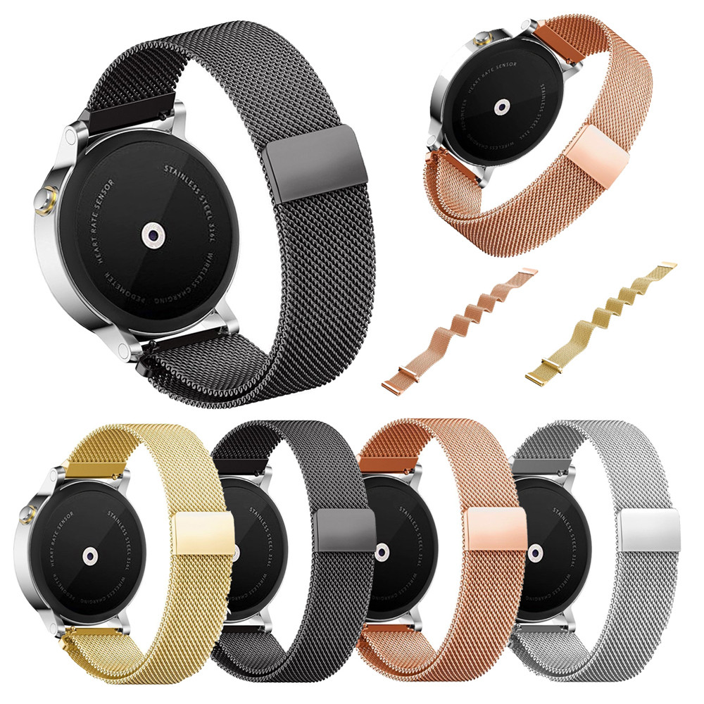 High Quality Watchbands 18mm Milanese Stainless Steel Watch Band Strap Bracelet For Withings Activite Pop watch accessories 2018 18mm milanese watch band quick release for withings activite steel pop mesh stainless steel strap wrist belt bracelet tool