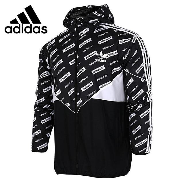 250f22583 Original Adidas Originals CLRDO WB AOP Men s Woven jacket Hooded Sportswear
