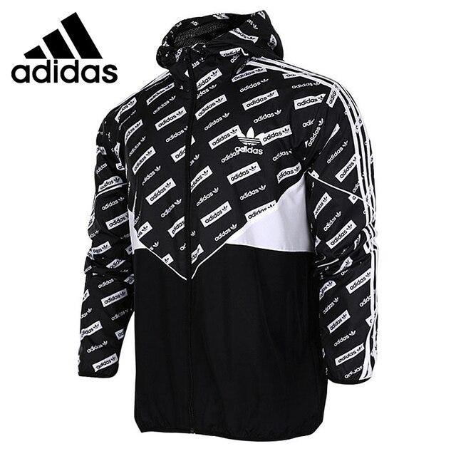US $100.9  Original Adidas Originals CLRDO WB AOP männer Woven jacke Kapuze Sport in Original Adidas Originals CLRDO WB AOP männer Woven jacke Kapuze