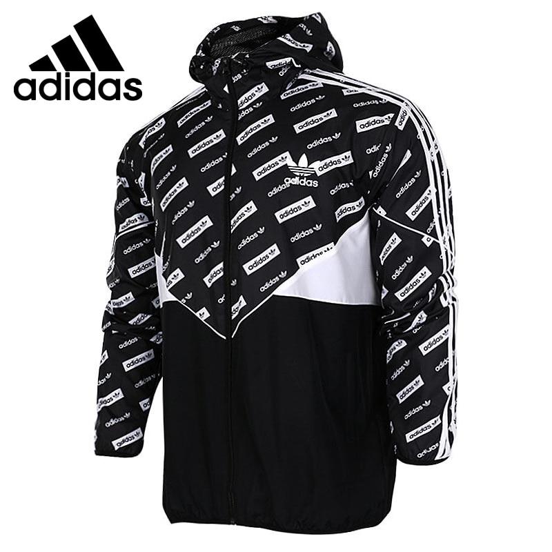 цена на Original New Arrival 2017 Adidas Originals CLRDO WB AOP Men's Woven jacket Hooded Sportswear