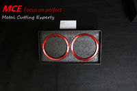 MCE Refit Air conditioning Vent ring in red for Toyota FT86 GT86 subaru BRZ