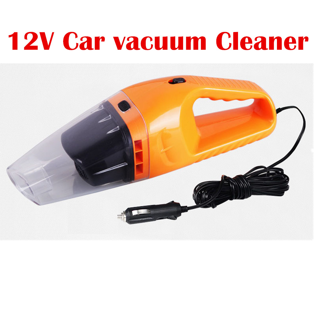 NEW Portable Handheld Wet Dry Dual-use Car vacuum Cleaner 12V 120W 5m Handheld Portable Dust Vacuum Cleaner FH062