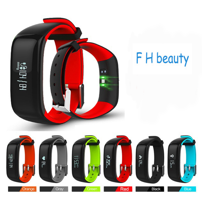 Teamyo P1 Smart Band Blood Pressure Watch Heart Rate Monitor Activity Tracker Fitness Smart Bracelet Pedometer Wearable Devices mio fuse heart rate training activity tracker