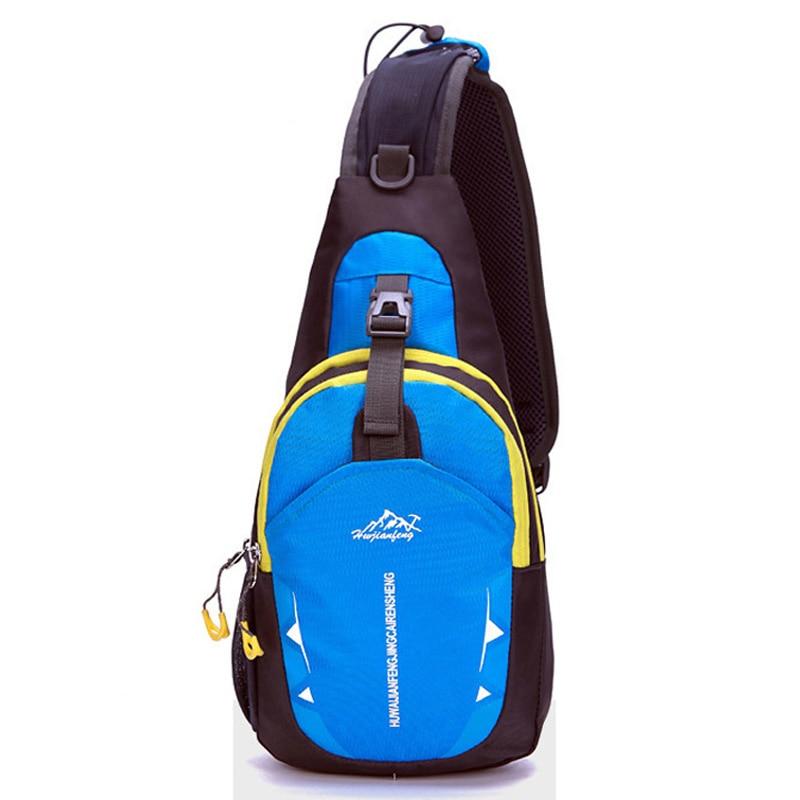 2017 New Small Cross Body Chest Bags Waterproof Nylon Men's Crossbody Messenger Shoulder Bags Sling Women Bags Back Pack
