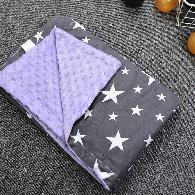 Baby Blankets Swaddling Cotton Warm Fleece Newborn Stroller Wrap Blanket Cartoon Beanie Infant Bedding Quilt Kids Bath Towel