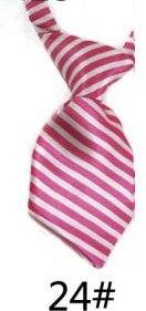 Модный галстук с принтом для мальчиков; Детский галстук; маленький галстук - Цвет: 24