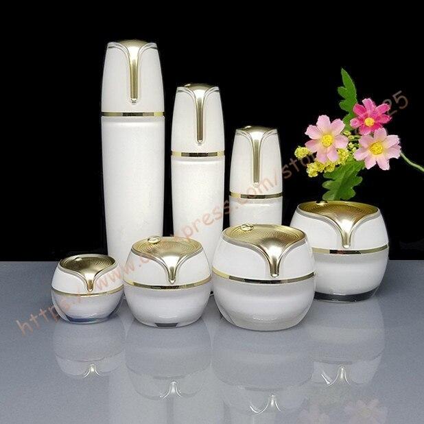 Top grade suit packing 10g 15g 30g 50g cream jar 10ml 30ml 50ml 100ml moisturizer facial