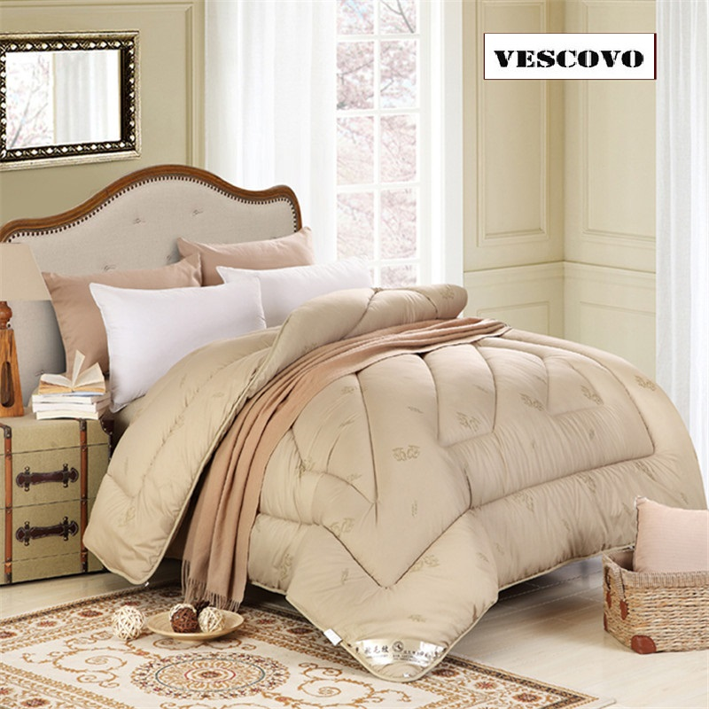 100?mel Wool Hair twin/ full/Queen/king Size comforter winter hotel Duvets Home textile Freeshipping|Comforters & Duvets| - AliExpress