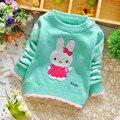 Envío libre Otoño y Primavera Nuevos niños, suéter de bebé niño y niña de dibujos animados suéter del suéter, suéter del cabrito # Z1334C