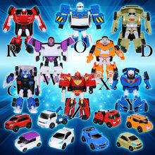 Cartoon Deformation Robot Tobot Brothers Anime Tobot Quartran Toys Tobot Car Animation Robot Character Vehicle Gift, 8 styles