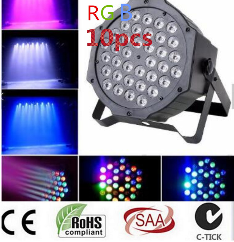 36 RGB LED Par Can Stage Light Disco DJ Bar Effect UP Lighting Sh dmx led par Club Party light Strobe AC110-240V  Fast Shipping laideyi 36 rgb led stage light effect laser party disco dj bar effect up lighting dmx projection lamp ktv party light