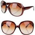 Moda oversized Retro rodada óculos de sol mulheres grife óculos de proteção UV400 óculos de sol óculos de mulheres