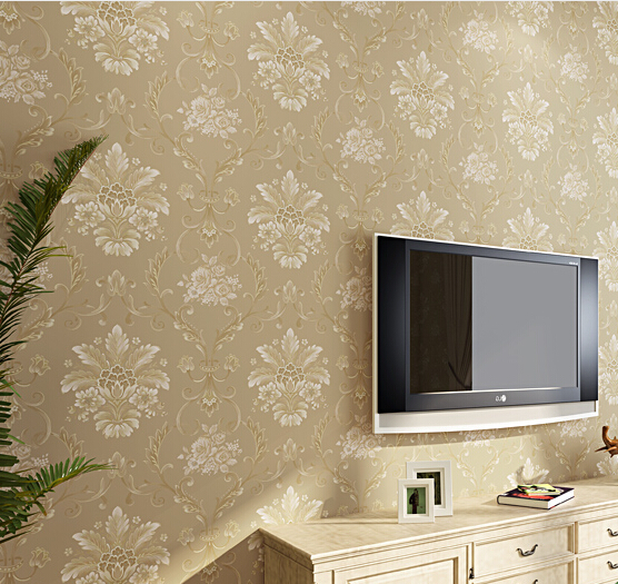 2016 new best selling high classic elegant expensive gas european-style wallpaper non-woven TV wall bedroom wall paper admiralty 2016 new style popular best selling natural jade