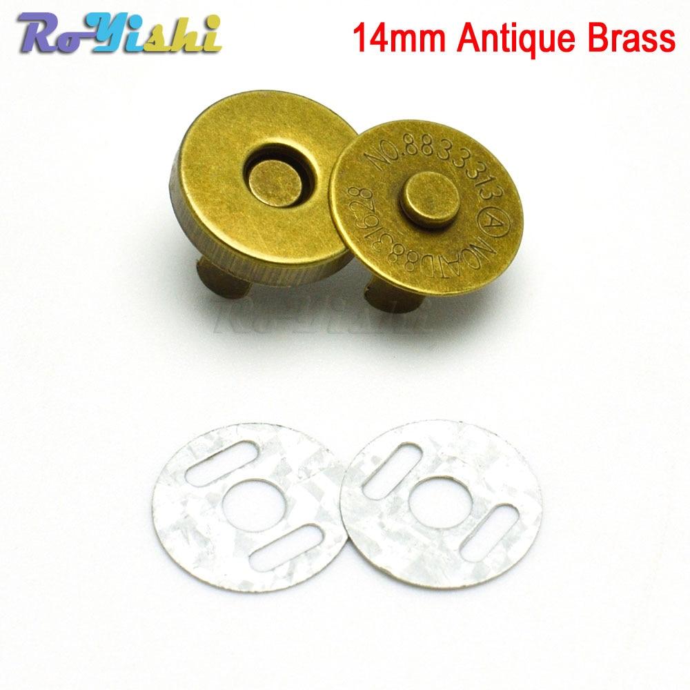 14mm Antique Brass