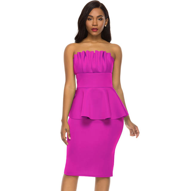 0a80d36cdc30d Women Bodycon Dress Off Shoulder Fake 2 Pieces Set Sexy Date Night  Celebrate Party Clubwear Dinner Tight Backless Evening Tunic