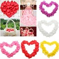Rose Petals Artificial Fabric Silk 1000pcs Romantic Wedding Party Event Carpet Decor Arrangement Flower Petal