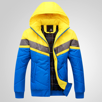 2012 Autumn And Winter Male Outerwear Thermal Cotton Padded Jacket Thickening Wadded Jacket Jiandan100