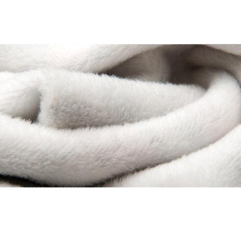 KWAN.Z thermal underwear for men winter plus velvet thicken thermos bottom print brushed pajamas thermal underwear long johns