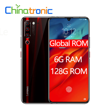 Global ROM Lenovo Z6 Pro 6GB 128GB Android P 4G FDD LTE Mobile Phone 6.39″FHD+2340×1080 Snapdragon 855 Octa-core 48MP 4000mAh Lenovo Phones