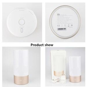 Image 5 - Original Xiaomi Mijia Smart Lights Indoor Bedside Desk Lamp 16 Million RGB Night Light Wifi Bluetooth For Smart Mi Home APP