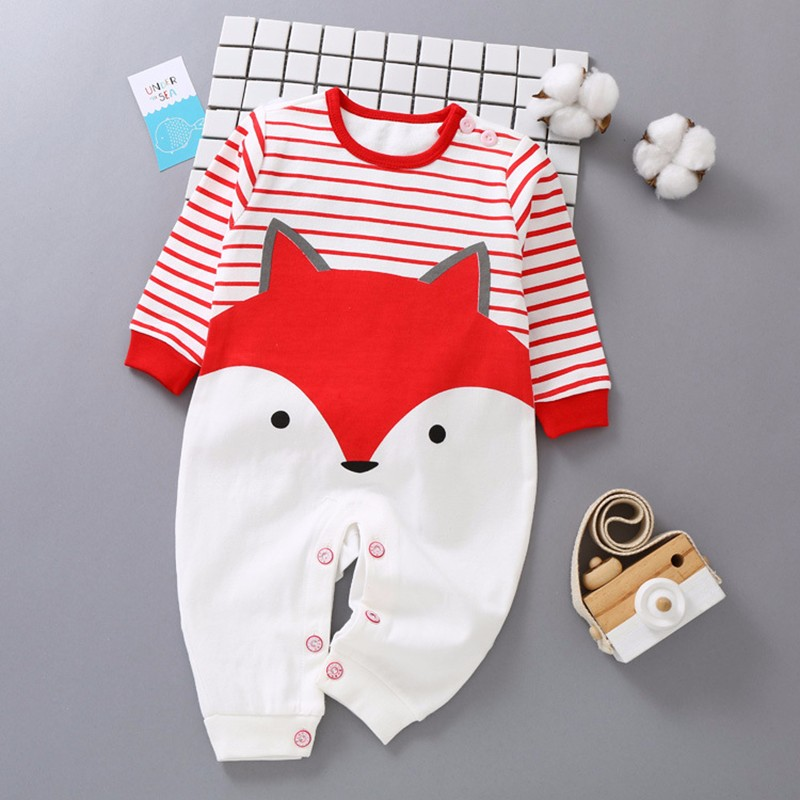 fashion baby boys romper rainbow baby clothes long sleeve cotton warm baby girl romper newborn winter clothes baby boy jumpsuit cartoon baby romper spirng autumn long sleeve little monster baby boy girl romper infant warm jumpsuit kids cotton clothes