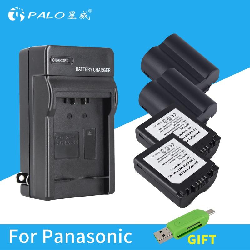 4X CGA-S006 S006 DMW-BMA7 S006A CGR-S006E Battery +LED USB Charger for Panasonic Lumix DMC-FZ7 FZ8 FZ18 FZ28 FZ30 FZ35 FZ38 FZ50