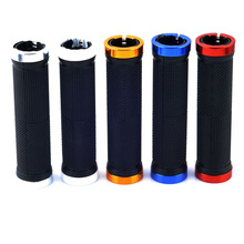 Cycling Lockable Handle Grip For Bicycle MTB Road Bike Handlebar Bicycle Grip Bike Aluminum Alloy + Rubber cycling mtb mountain road bike bicycle carbon handlebar cover handle grip bicycle parts anti slip rubber aluminum alloy