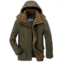 군사 남성 자켓 2018 겨울 착실히 보내다 윈드 캐주얼 두꺼운 따뜻한 다운 코트 남성 파카 Jaqueta Masculino Militar 재킷