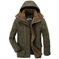 Military Jackets Men 2017 Winter Outwear Windbreaker Casual Thick Warm Down Coats Mens Parka Jaqueta Masculino