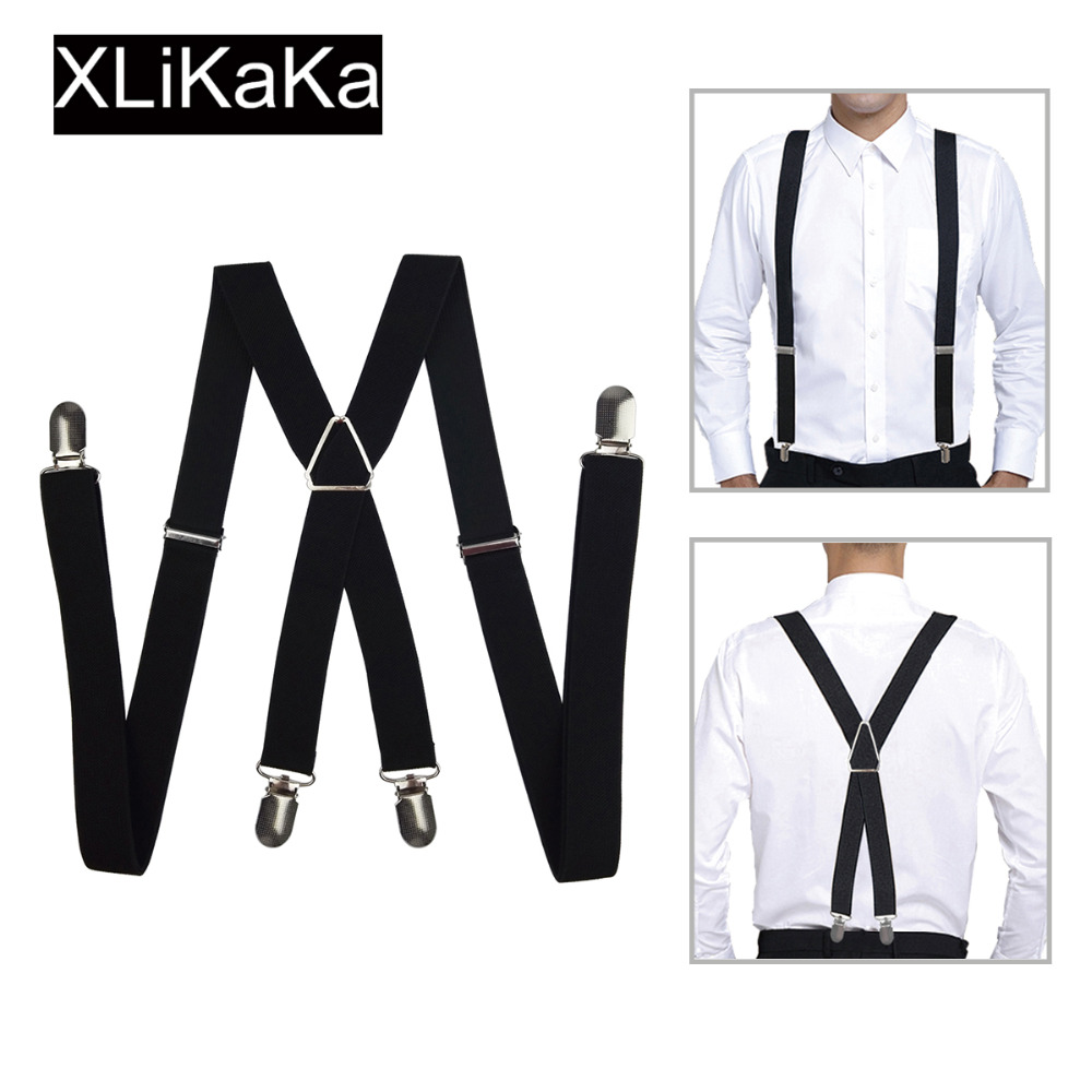 Men's Suspenders 2019 Latest Design New Mens Shirt Stays Garters Y Shape Adjustable Elastic Shirt Holders Straps Sock Stays Non-slip Clamps Leg Suspenders Selected Material