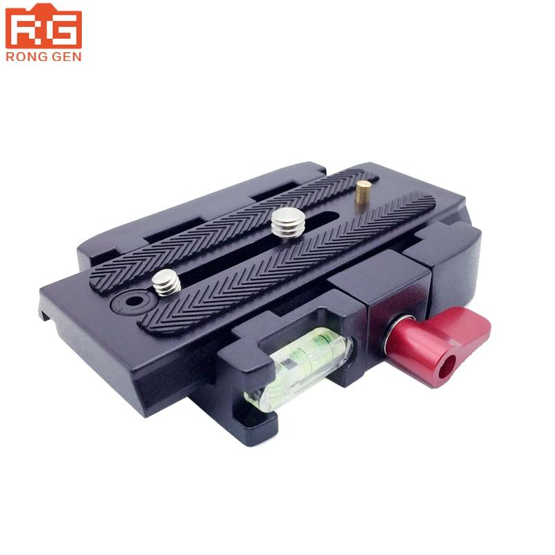 Lega di alluminio treppiedi di macchina fotografica monopiede p200 qr morsetto adattatore + piastra eine sgancio rapido für manfrotto