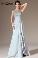 Freeshipping New Charming Tank Gray Evening Dresses
