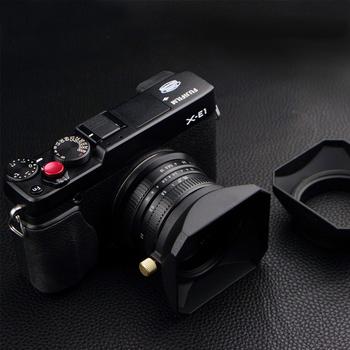 37 39 40 5 43 46 49 52 55 58 mm kwadratowe osłona obiektywu do Fuji Nikon Micro pojedyncza kamera prezent osłona obiektywu tanie i dobre opinie Ynniwa Canon Pentax Sony Minolta Fujitsu Olympus Fujifilm Leica B0083