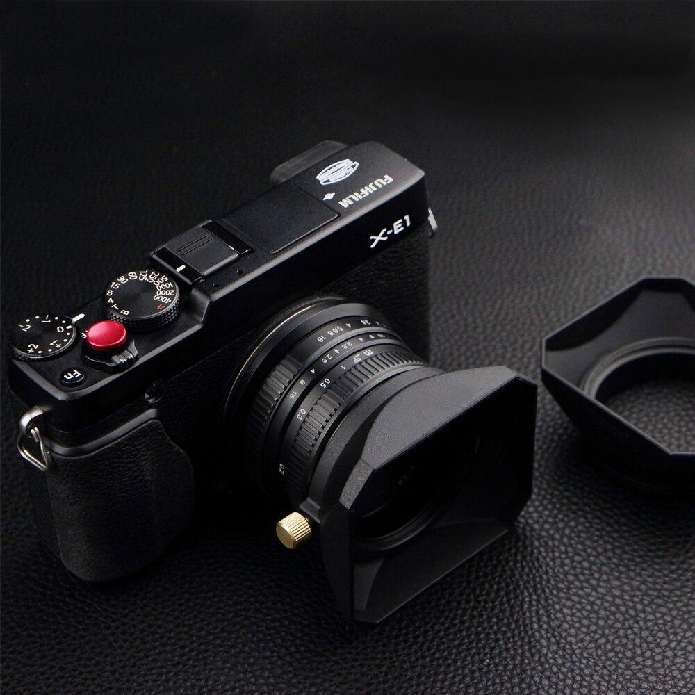 37 39 40.5 43 46 49 52 55 58 mm forma quadrada capa da lente para fuji nikon micro única câmera presente um boné de lente