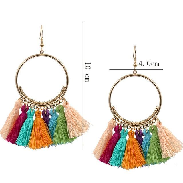 Handmade Tassel Earrings 1