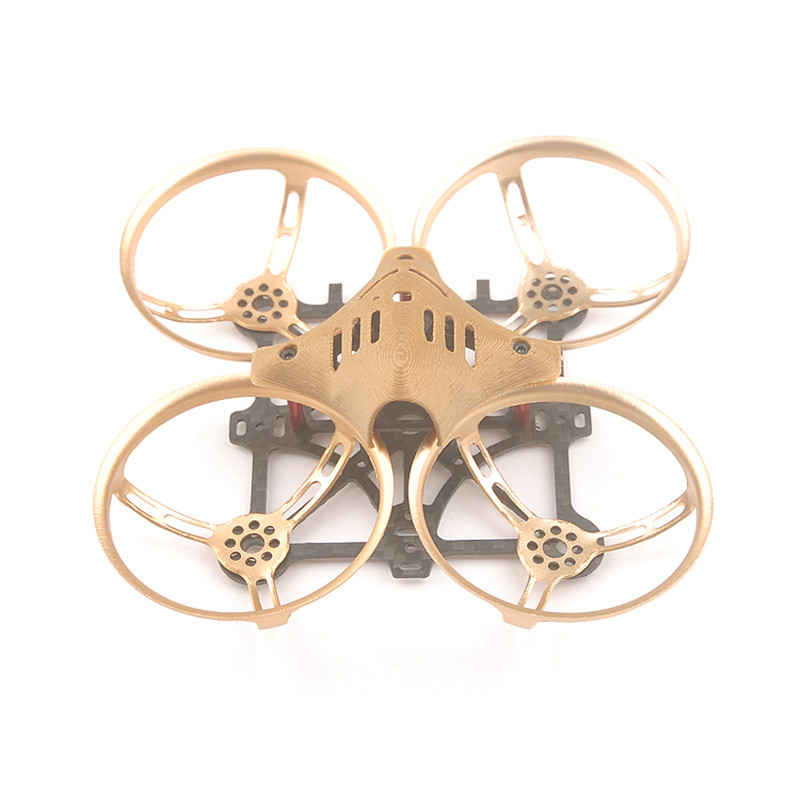 Happymodel Toad 88 Indoor Brushless 90mm Inductix Frame Aluminum Propeller Protective Cover for 1102 1103 Motor 2S 450mah Lipo