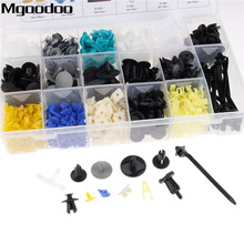 Mgoodoo 17Kinds Mixed 730PCS Auto Fastener Car Universal Bumper Door Plate Fender Retainer Clips for All Series