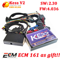 KESS V2 kess V2.30 Newest OBD2 Manager Tuning Kit No Token Limit Kess v2 V4.036 Master Version ECU chip tunning tool kess v2