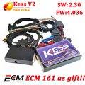 V2.30 Más Reciente OBD2 kess KESS V2 Gerente Sintonía Kit No Token límite de Kess v2 V4.036 Maestro Versión ECU herramienta tunning de la viruta kess v2