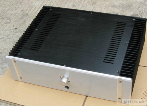 Nobsound Aluminum Enclosure Class A Power Amplifier Chassis Case Audiophile Cabinet Box