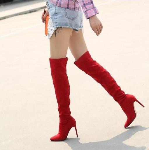 High Boots Thin Heels Winter Long Boots
