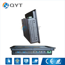 Fanless 11.6″ All In One PC Touch Screen Low power consumption Inter N2800 1.6GHz Aluminum shell embedded installation