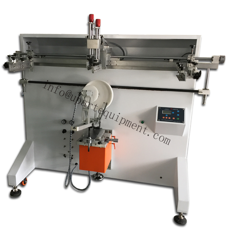 Plastic Bucket Printing Machine, Silks Creen Printing Machine For Pails,pail Screen Printing Machine