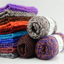 300g/Lot Merino Wool Crochet Thick Hand Knitting Yarns For Visan Eco-Friendly Dyed Fashion Sweater Shawl Thread Laine A Tricoter