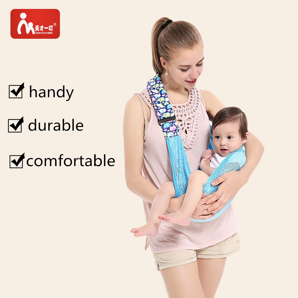Baby Sling Infant Carrier Wrap Sling Carrier  Infant Sling Comfortable Nursing Cover Baby Kid Infant Backpacks Carriers Sling