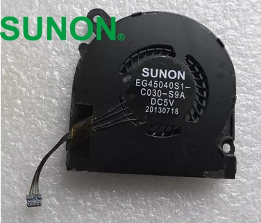 SUNON Fan For Yoga 2 Pro 13 Pro13-ISE Pro13-IFI Left+Right CPU Cooling Fan 1 pair EG45040S1-C020-S9A EG45040S1-C030-S9A free shipping laptop cpu cooling fan for apple sunon dc12v 2 7w b1206phv1 a 13 ms b1577 f gn all in one cooling fan