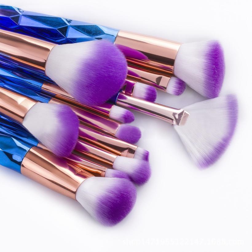 12pcs Pro Eye Brush Set Blending Shadow Eyeliner Smoked Bloom Cosmetic Tools Brushes Set Kit Beauty Essentials Dropship 9.5