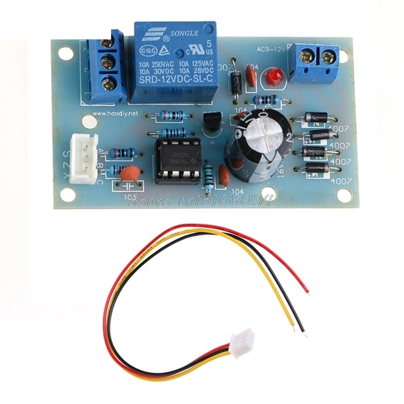 Water Liquid Level Controller Sensor Module Detection Switch AC 9-12V 10A/250V S08 Wholesale&DropShip