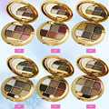 2017 New Eyeshadow Bear 6-color diamond shiny pearl eye shadow a core in the end the earth smoked makeup bare makeup ultra-shiny